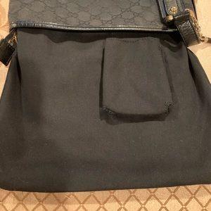 Gucci Bags - Authentic Gucci Jolicoeur Black GG Messenger  Bag
